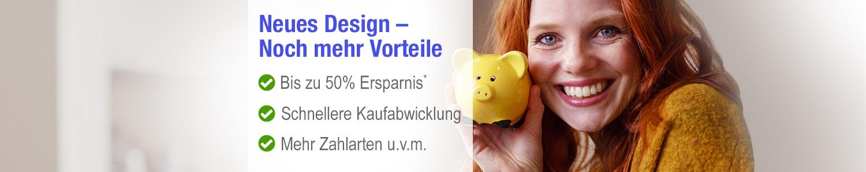Neues Design - Noch mehr Vorteile