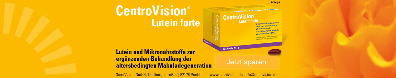 Jetzt Centrovision Lutein forte Omega 3 Kapseln günstig online kaufen!