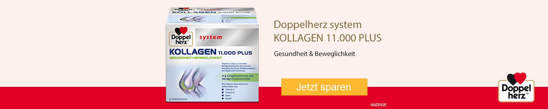 Jetzt Doppelherz system Kollagen 11.000 PLUS günstig online kaufen!
