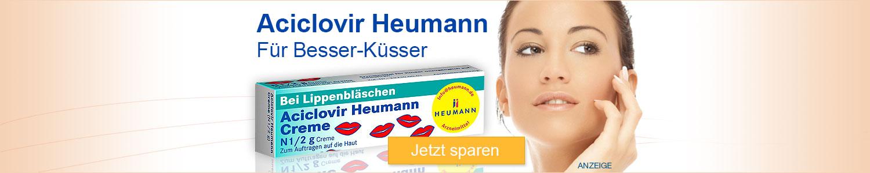 Jetzt Aciclovir Heumann Creme günstig kaufen!