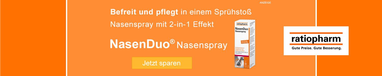 Jetzt Ratiopharm NasenDuo günstig online kaufen!