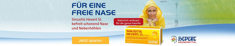 Jetzt Sinusitis Hevert SL günstig online kaufen!