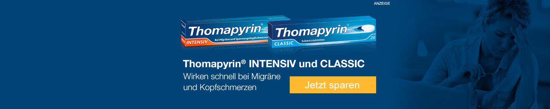 Jetzt Thomapyrin-Produkte günstig online kaufen!