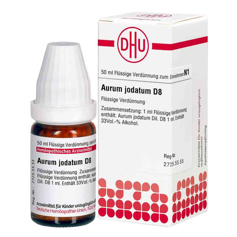Aurum Jodatum D 8 Dilution  bei deutscheinternetapotheke.de bestellen