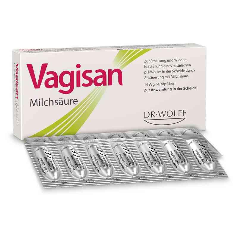 Vagisan Milchsäure Vaginalzäpfchen  bei deutscheinternetapotheke.de bestellen