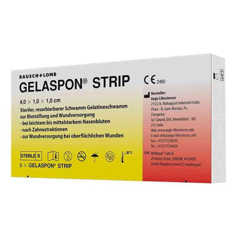 Gelaspon Strip 4x1x1 cm Streifen  bei deutscheinternetapotheke.de bestellen