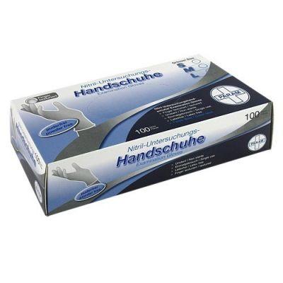 Handschuhe Einmal Nitril S blau  bei deutscheinternetapotheke.de bestellen