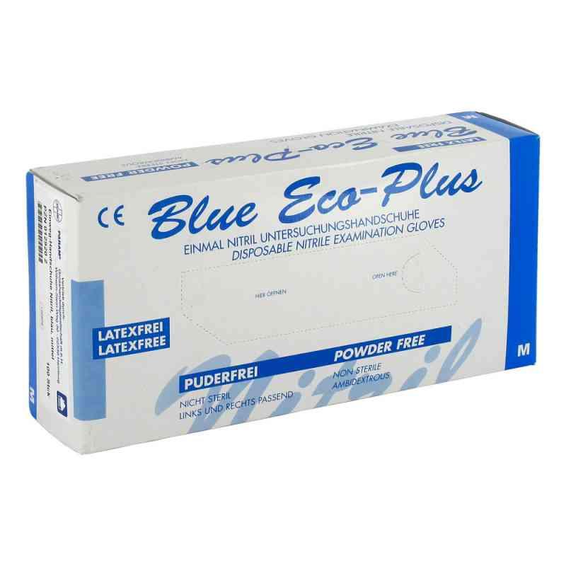 Handschuhe Einmal Nitril M blau  bei deutscheinternetapotheke.de bestellen