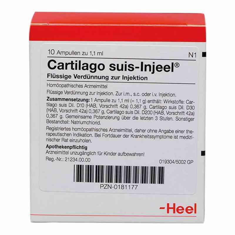 Cartilago suis Injeel forte Ampullen  bei deutscheinternetapotheke.de bestellen
