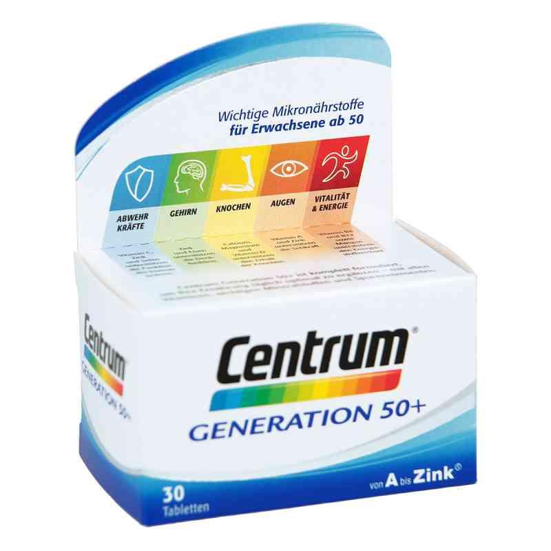 Centrum Gen.50+ A-zink+floraglo Caplette  bei deutscheinternetapotheke.de bestellen