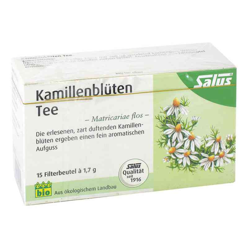 Kamillenblüten Tee Bio Matricariae flos Salus  bei deutscheinternetapotheke.de bestellen