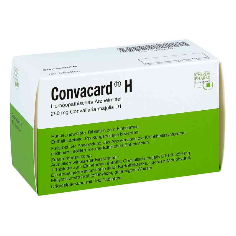 Convacard H Tabletten  bei deutscheinternetapotheke.de bestellen