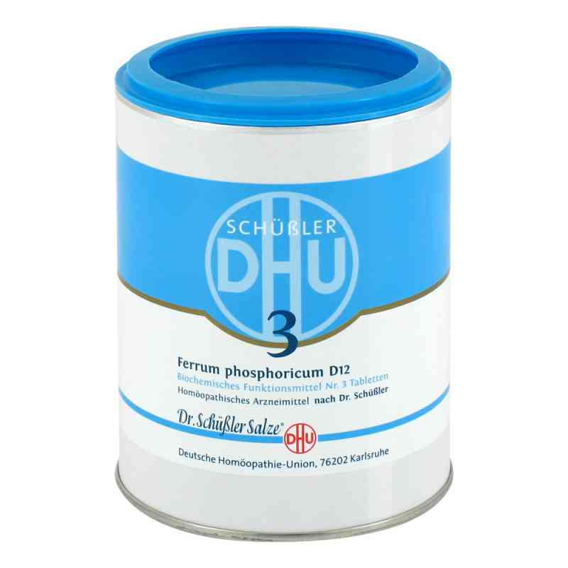 Biochemie DHU Schüßler Salz Nummer 3 Ferrum phosphoricum D12  bei deutscheinternetapotheke.de bestellen