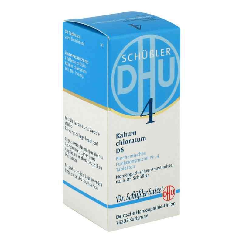 Biochemie Dhu 4 Kalium chlorat. D 6 Tabletten  bei deutscheinternetapotheke.de bestellen