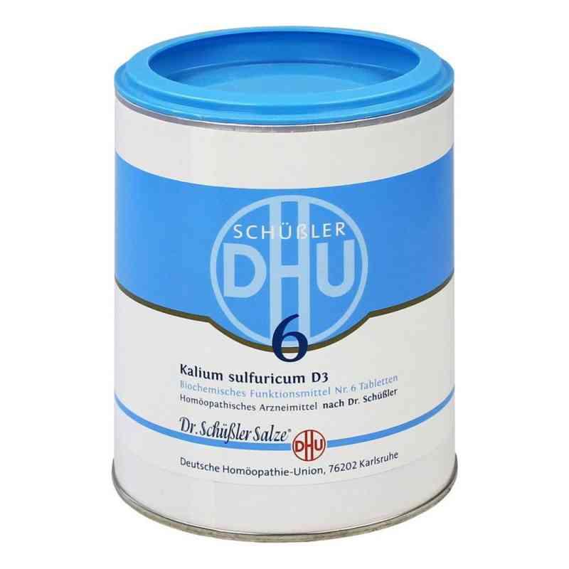 Biochemie Dhu 6 Kalium Sulfur D  3 Tabletten  bei deutscheinternetapotheke.de bestellen