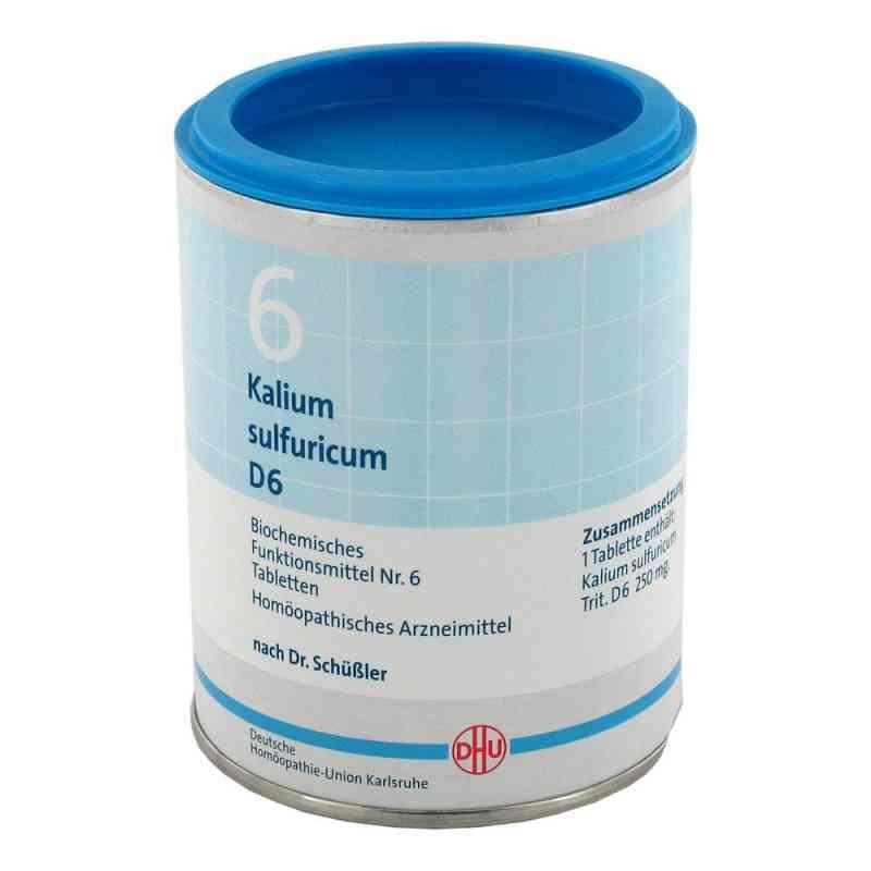 Biochemie Dhu 6 Kalium Sulfur D6 Tabletten  bei deutscheinternetapotheke.de bestellen