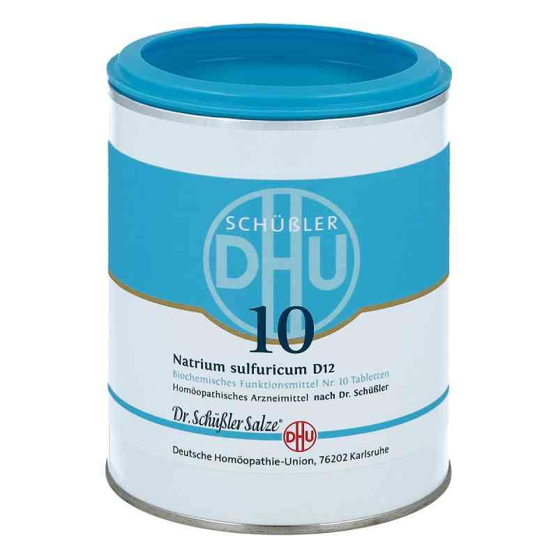 Biochemie Dhu 10 Natrium Sulfur D12 Tabletten  bei deutscheinternetapotheke.de bestellen