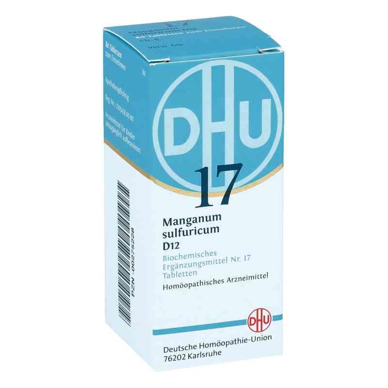 Biochemie Dhu 17 Manganum sulfuricum D 12 Tabletten   bei deutscheinternetapotheke.de bestellen