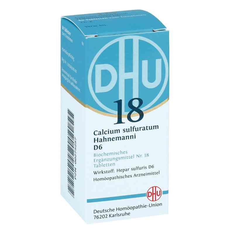 Biochemie Dhu 18 Calcium sulfuratum D6 Tabletten  bei deutscheinternetapotheke.de bestellen
