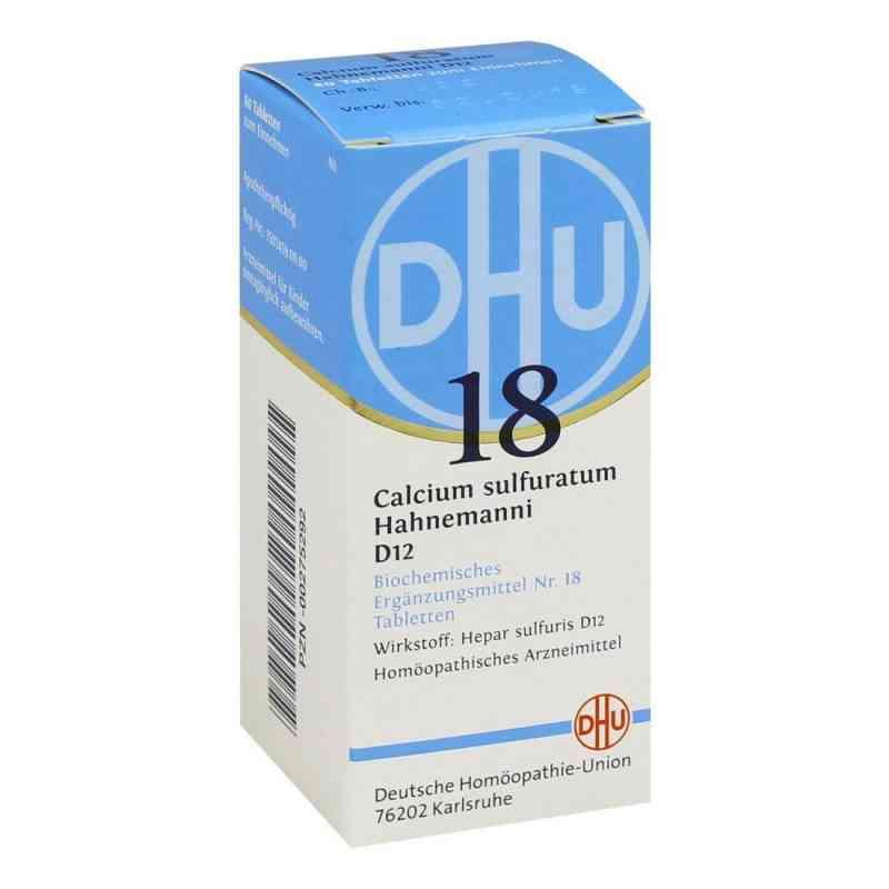 Biochemie Dhu 18 Calcium sulfuratum D12 Tabletten  bei deutscheinternetapotheke.de bestellen