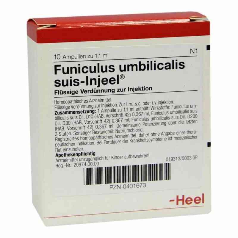 Funiculus Umbilicalis suis Injeel Ampullen  bei deutscheinternetapotheke.de bestellen