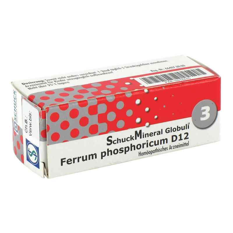 Schuckmineral Globuli 3 Ferrum phosphoricum D12  bei deutscheinternetapotheke.de bestellen