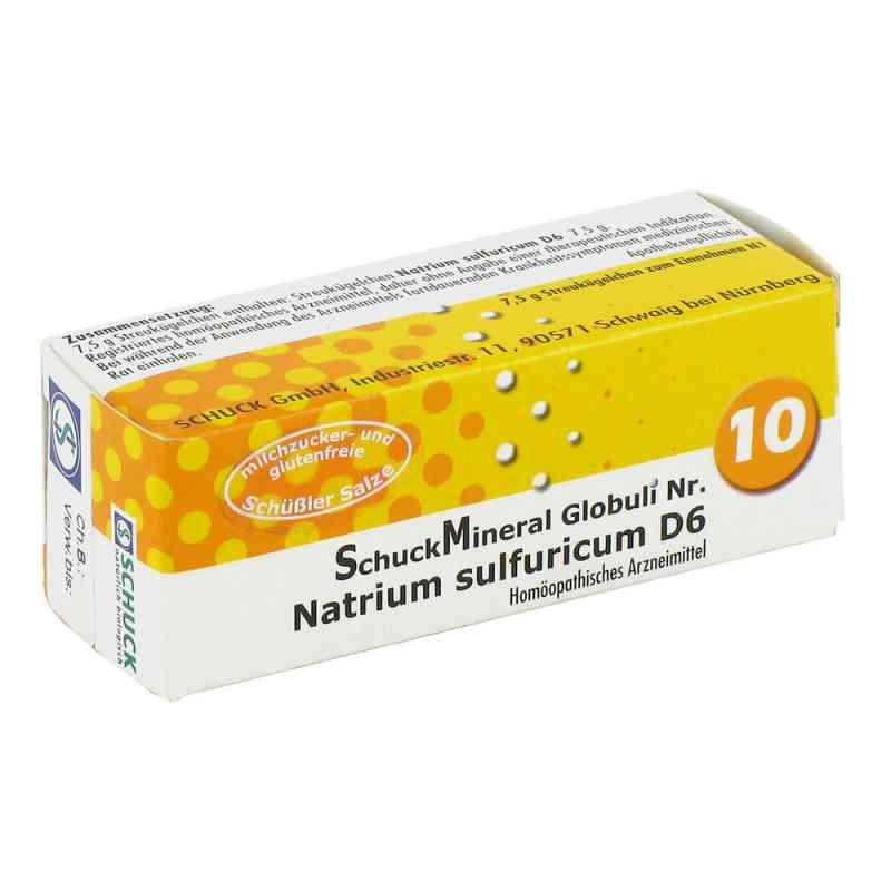Schuckmineral Globuli 10 Natrium sulfuricum D6  bei deutscheinternetapotheke.de bestellen