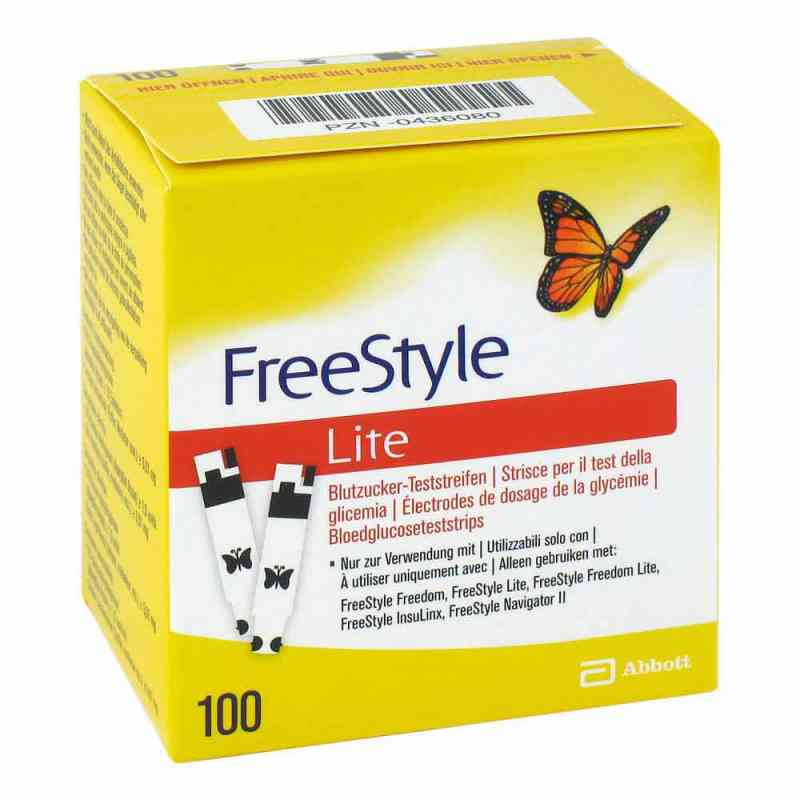 Freestyle Lite Teststreifen ohne Codieren  bei deutscheinternetapotheke.de bestellen