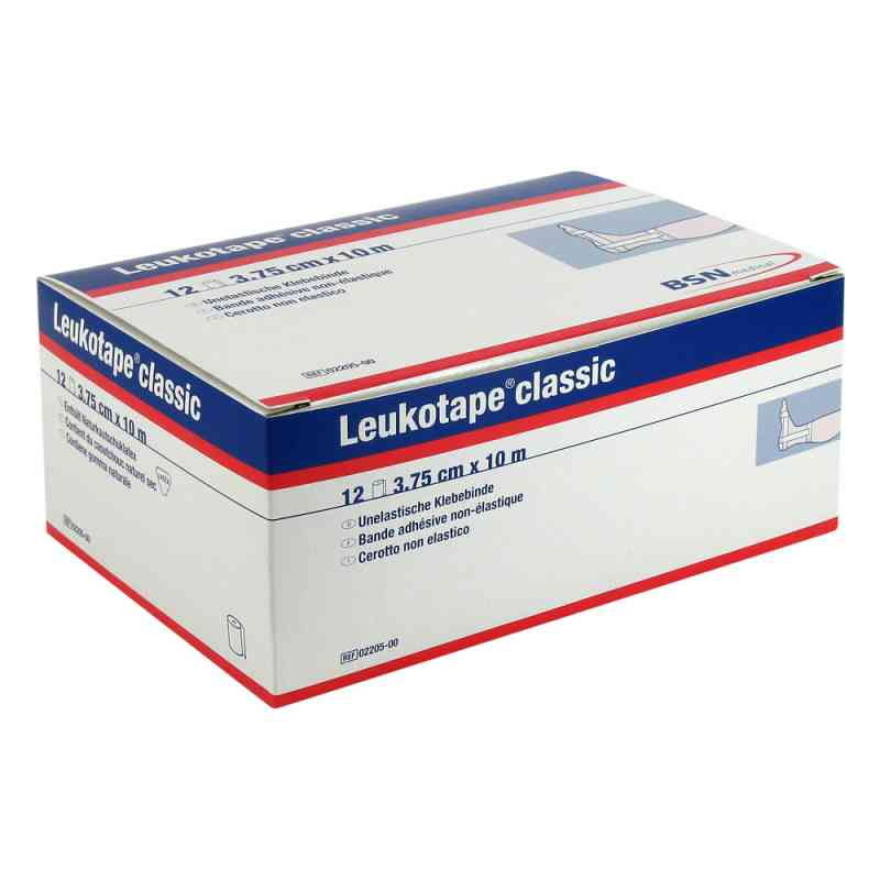 Leukotape Classic 10mx3,75cm weiss  bei deutscheinternetapotheke.de bestellen