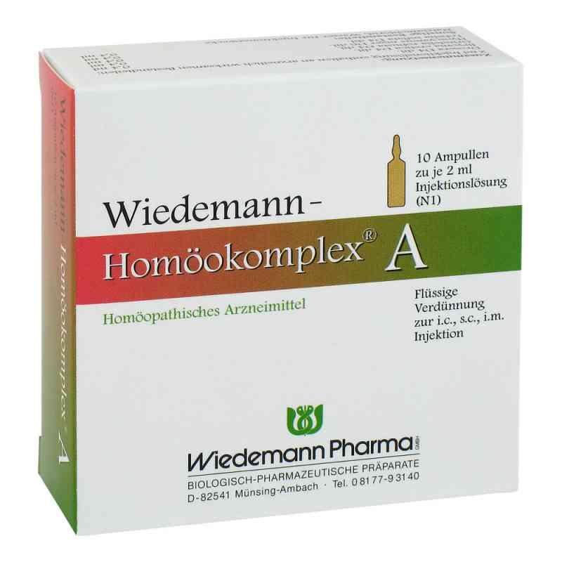 Wiedemann Homöokomplex A Ampullen  bei deutscheinternetapotheke.de bestellen