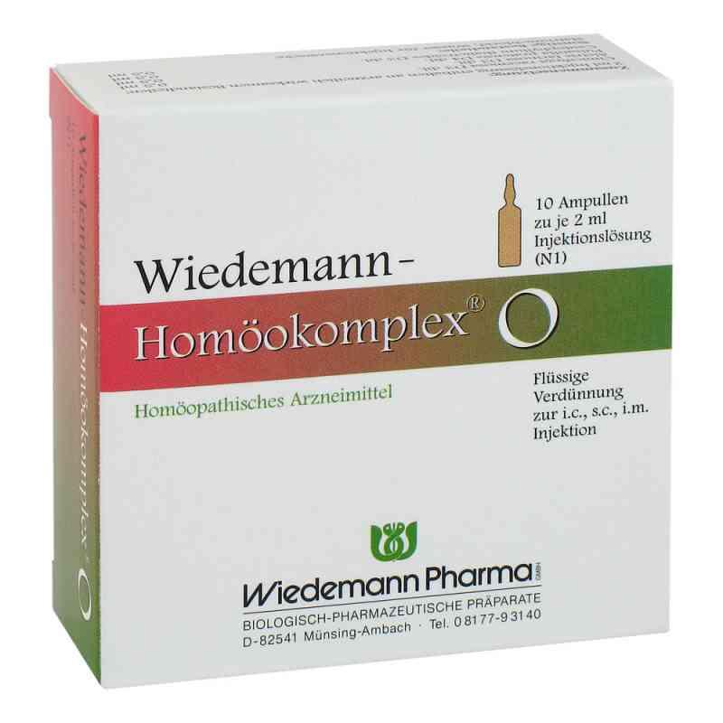 Wiedemann Homöokomplex O Ampullen  bei deutscheinternetapotheke.de bestellen