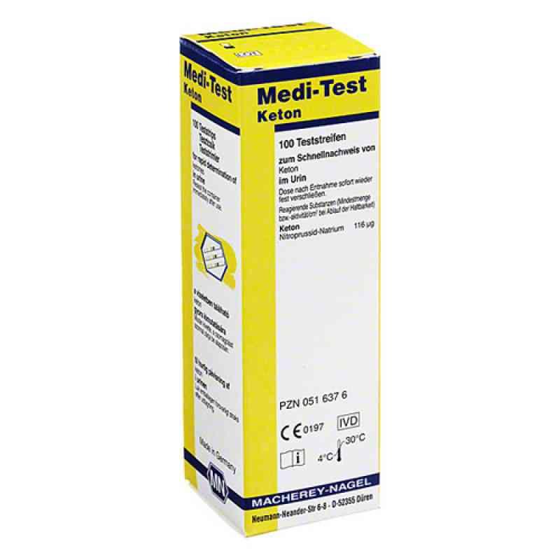 Medi Test Keton Teststreifen  bei deutscheinternetapotheke.de bestellen