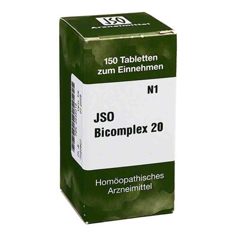 Jso Bicomplex Heilmittel Nummer  20  bei deutscheinternetapotheke.de bestellen