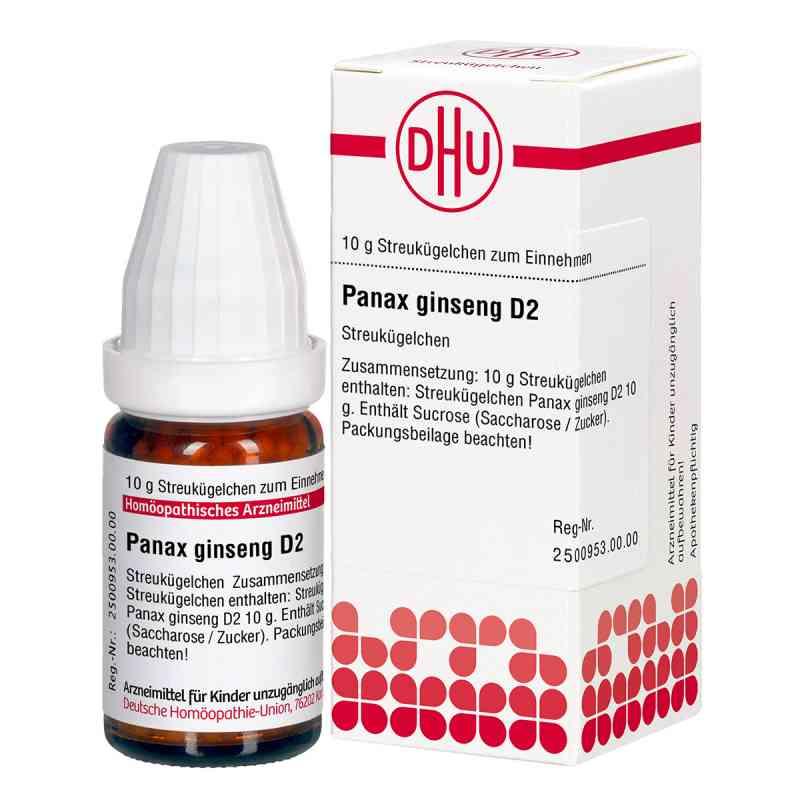 Panax Ginseng D 2 Globuli  bei deutscheinternetapotheke.de bestellen