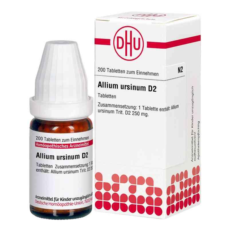 Allium Ursinum D2 Tabletten  bei deutscheinternetapotheke.de bestellen