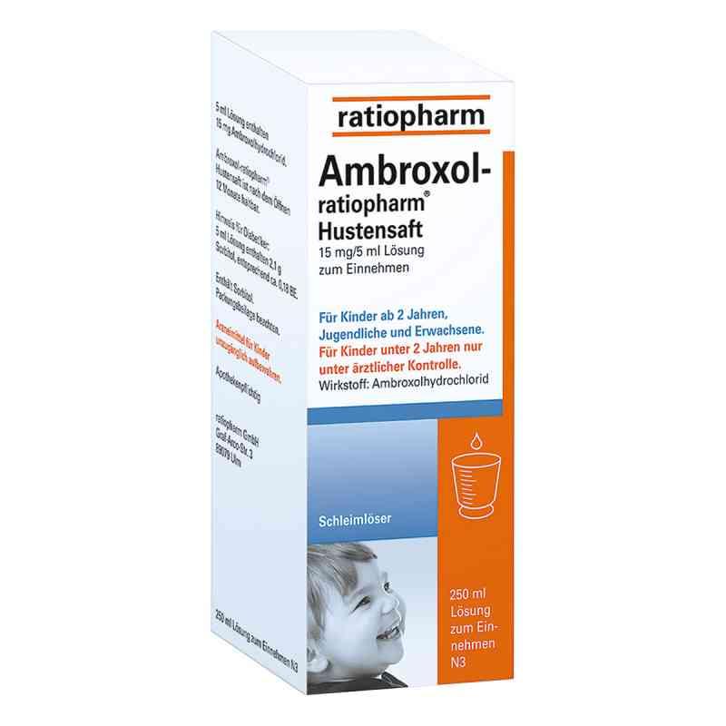 Ambroxol-ratiopharm Hustensaft  bei deutscheinternetapotheke.de bestellen