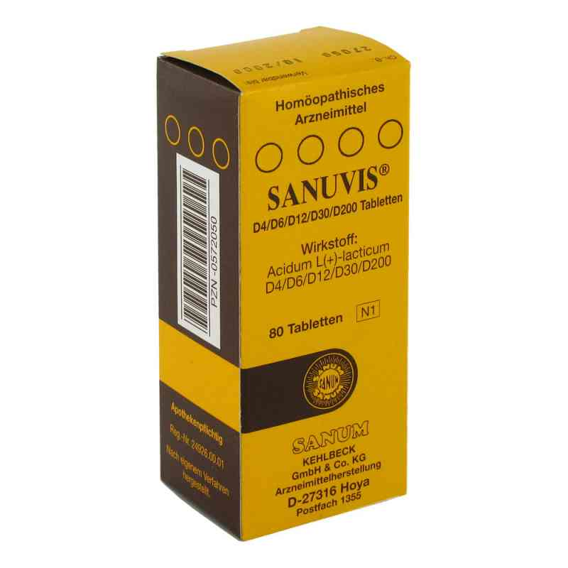 Sanuvis Tabletten  bei deutscheinternetapotheke.de bestellen