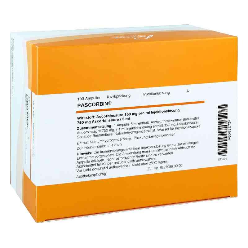 Pascorbin 750 mg Ascorbinsäure/5ml iniecto -lösung  bei deutscheinternetapotheke.de bestellen