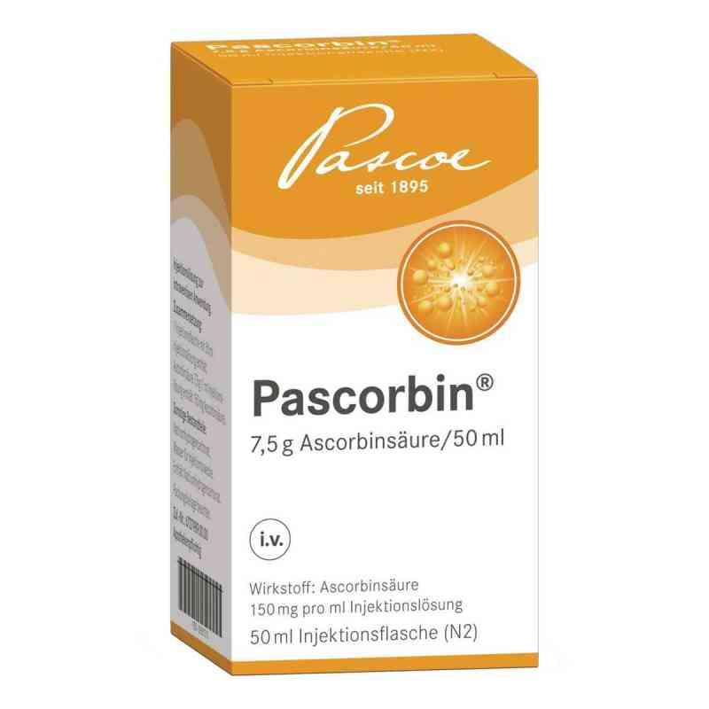 Pascorbin 7,5 g Ascorbinsäure/50ml iniecto -lösung  bei deutscheinternetapotheke.de bestellen