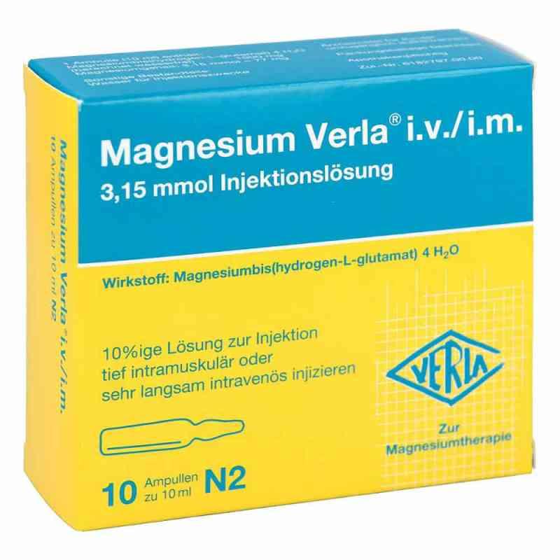 Magnesium Verla intravenös /i.m. Injektionslösung  bei deutscheinternetapotheke.de bestellen