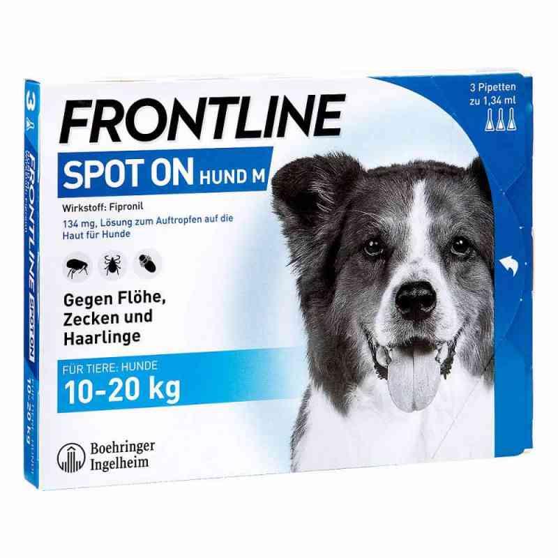 Frontline Spot on Hund 20 veterinär Lösung gegen Floh und Zecke  bei deutscheinternetapotheke.de bestellen