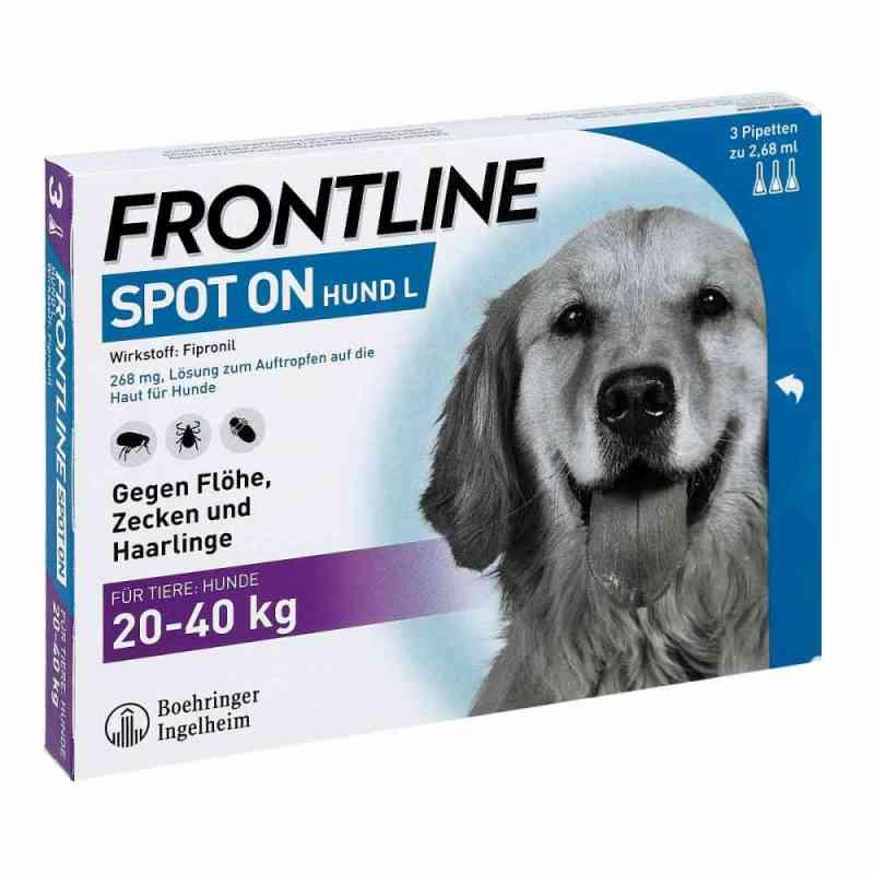 Frontline Spot on Hund 40 veterinär Lösung gegen Floh und Zecke  bei deutscheinternetapotheke.de bestellen