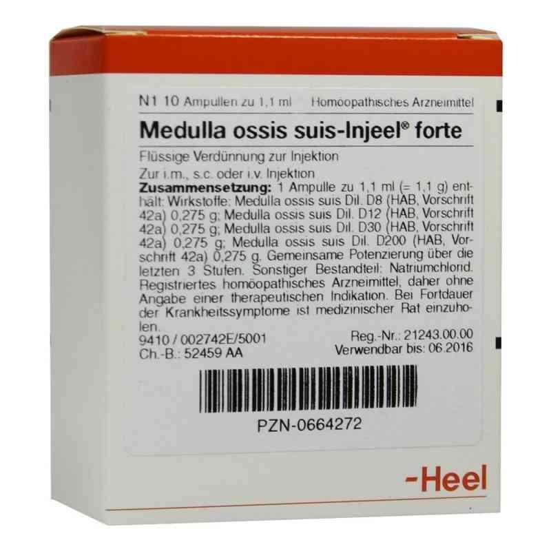 Medulla Ossis suis Injeel forte Ampullen  bei deutscheinternetapotheke.de bestellen