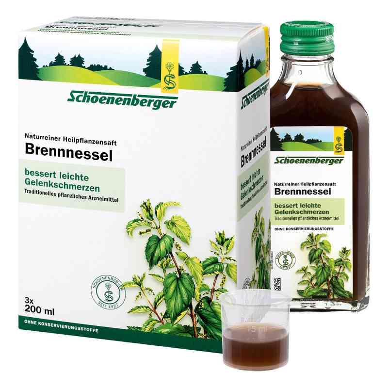 Brennesselsaft Schoenenberger  bei deutscheinternetapotheke.de bestellen