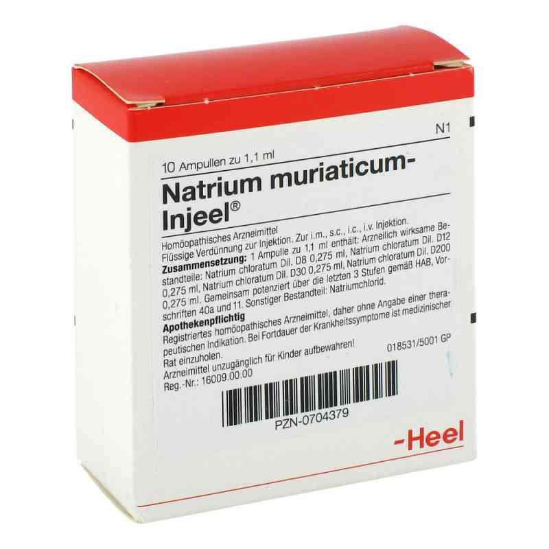 Natrium Muriaticum Injeel Ampullen  bei deutscheinternetapotheke.de bestellen