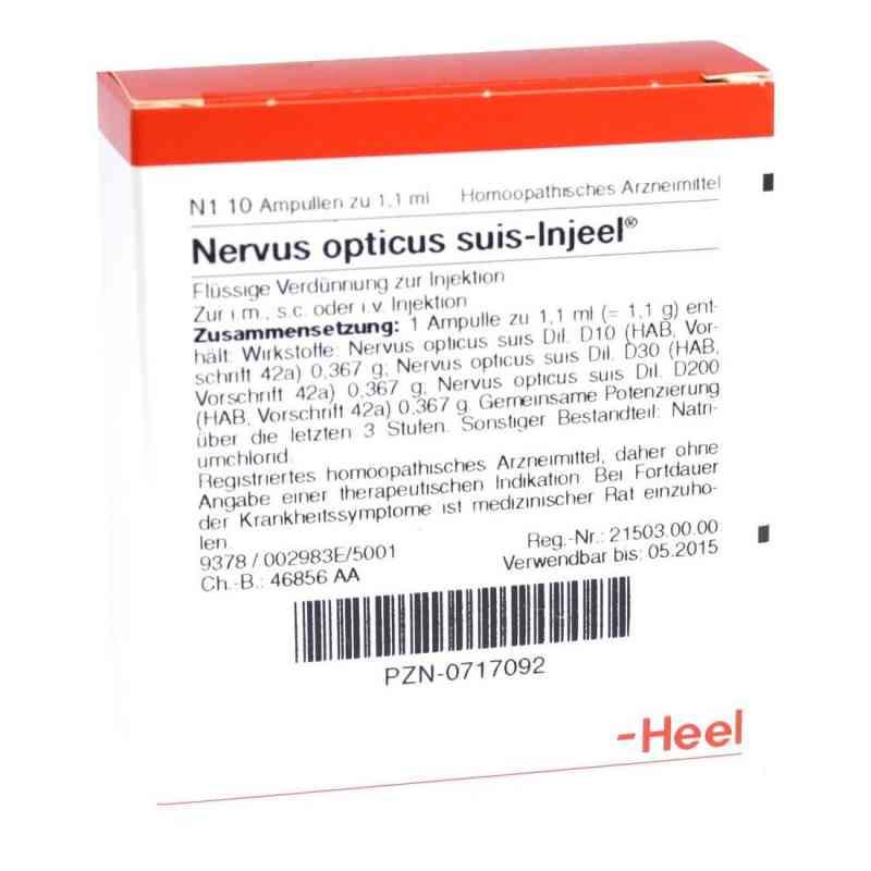 Nervus Opticus suis Injeel Ampullen  bei deutscheinternetapotheke.de bestellen