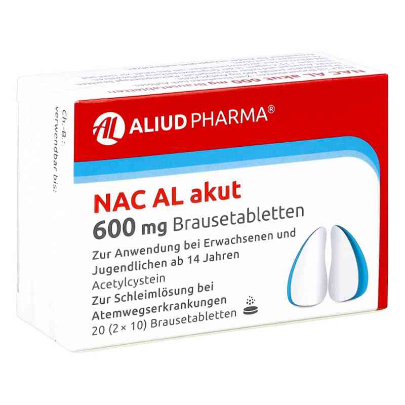 NAC AL akut 600mg  bei deutscheinternetapotheke.de bestellen