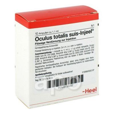 Oculus totalis suis Injeel Ampullen  bei deutscheinternetapotheke.de bestellen