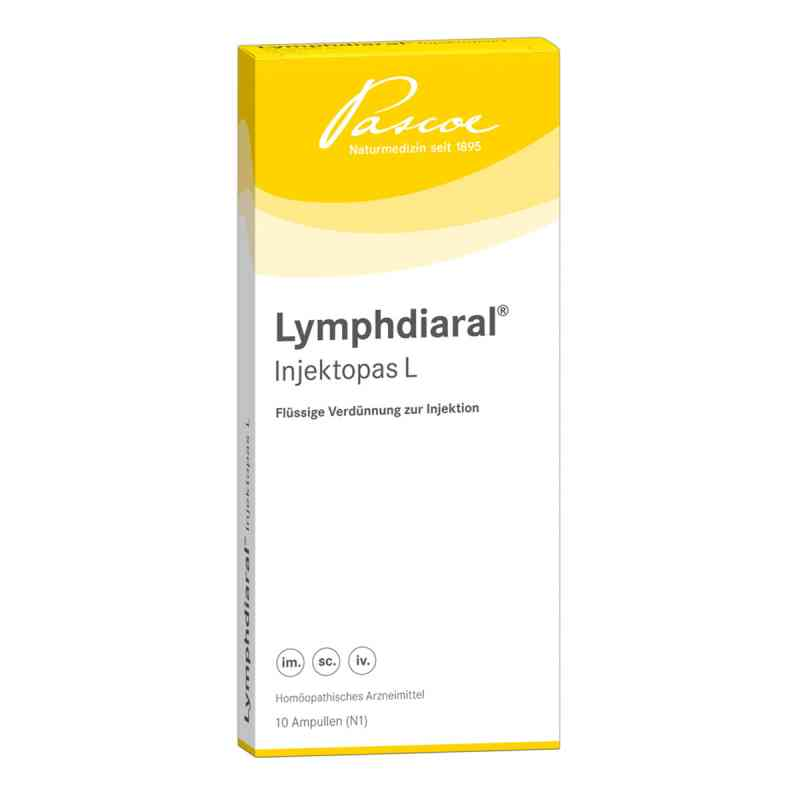 Lymphdiaral Injektopas L Ampullen  bei deutscheinternetapotheke.de bestellen
