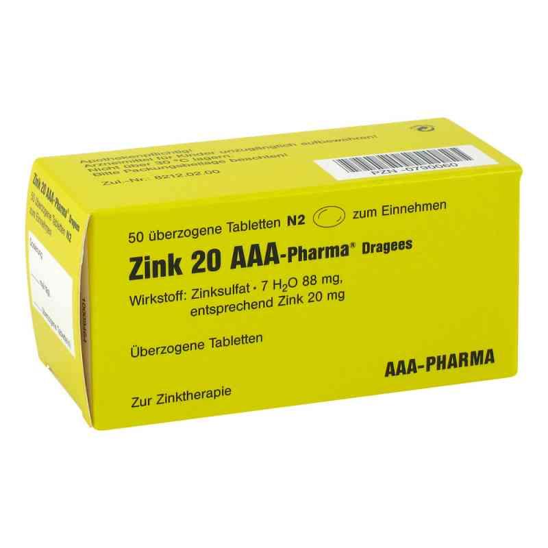 Zink 20 AAA-Pharma  bei deutscheinternetapotheke.de bestellen